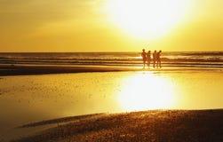 Tillsammans i solljuset Fotografering för Bildbyråer