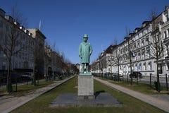 TILLSTÅND AV DEN DANSKA BANKIREN CARL FREDERIK TIETGEN Royaltyfri Fotografi