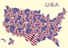 tillstånd 51 av USA Arkivfoto