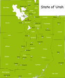Tillstånd av Utah Arkivbilder