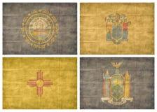 tillstånd för 8 13 flaggor oss Arkivbild