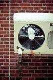 tillstånd för luftkompressor Arkivfoto