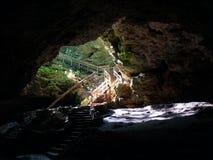 tillstånd för park för grottaiowa maquoketa royaltyfri fotografi