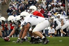 tillstånd för quarterback för matthew mcgloinpenn Arkivbilder