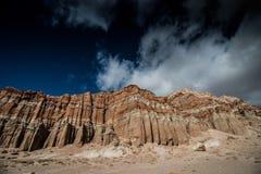 tillstånd för rock för kanjonpark rött Arkivbilder