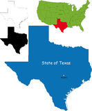tillstånd texas USA Arkivfoton