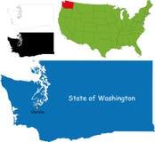tillstånd USA washington Arkivbilder