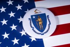 Tillståndet av Massachusetts i USA arkivfoto