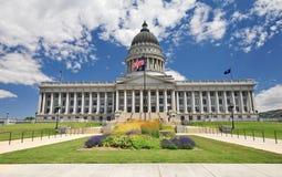 Tillståndet av Utah huvudbyggnad Arkivfoto