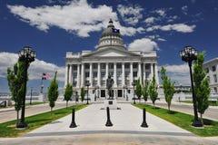 Tillståndet av Utah huvudbyggnad Fotografering för Bildbyråer