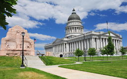 Tillståndet av Utah huvudbyggnad Arkivbilder