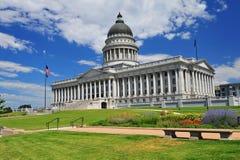 Tillståndet av Utah huvudbyggnad Arkivbild
