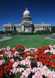 TillståndsCapitol av Idaho Fotografering för Bildbyråer