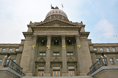 TillståndsCapitol av Idaho Arkivfoton