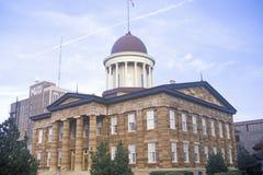 TillståndsCapitol av Illinois Arkivfoto