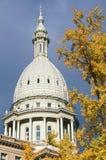 TillståndsCapitol av Michigan Royaltyfri Foto