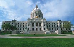 TillståndsCapitol av Minnesota Arkivbilder