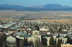 TillståndsCapitol av Montana Arkivbilder