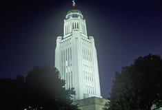 TillståndsCapitol av Nebraska Royaltyfri Fotografi