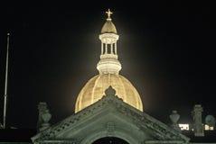 TillståndsCapitol av New Jersey Arkivfoton