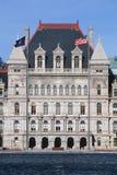 TillståndsCapitol av New York Arkivbild