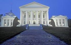 TillståndsCapitol av Virginia Arkivfoto