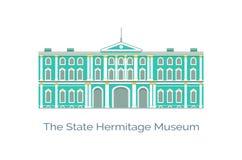Tillståndseremitboningkonstmuseum och kultur, vektor vektor illustrationer