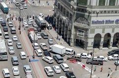 tillströmning av trafik Royaltyfri Bild