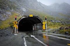 Tillträde av tunnelen Arkivbild