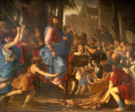 tillträde jerusalem jesus paris Arkivfoton