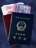 tillträdesHong Kong macau permit till arkivbild