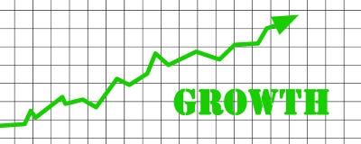 Tillväxt stock illustrationer