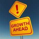 Tillväxt framåt Arkivfoton