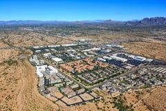 Tillväxt i norr Scottsdale, Arizona Arkivfoton