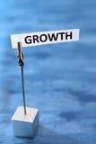 tillväxtstrategi Arkivbilder