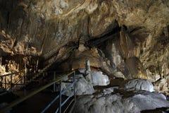 Tillverka grottan av nya Athos i Abchazien Arkivbilder