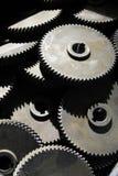 Tillverkade kugghjul för fabrik nyligen Royaltyfri Bild