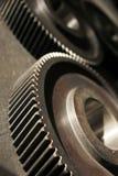 Tillverkade kugghjul för fabrik nyligen Royaltyfri Foto