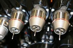 tillverkning för cnc-drillmaskineri Royaltyfria Bilder