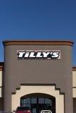 Tillys varuhusyttersida Arkivbild