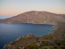 Tilos-Insel, Griechenland Lizenzfreies Stockbild