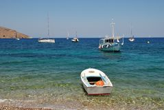 Tilos island, Greece Stock Photos