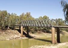 Tilpa Darling River Bridge Stock Image