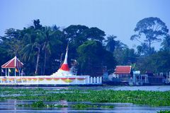 Tilt Pagoda. Stock Images