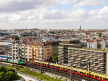 Tilt-shift berlin Royalty Free Stock Photos
