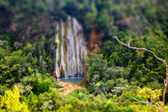 Tilt shift effect Stock Photo