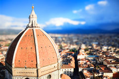 Tilt Shift Florence Stock Photos
