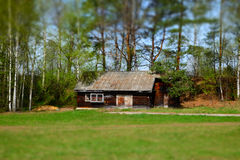 Tilt-shift house Royalty Free Stock Photos