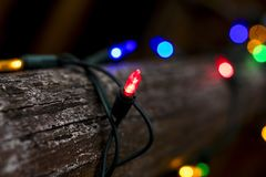 Tilt Shift Lens Photography of String Lights Stock Photos