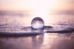 Tilt Shift Lens Photography of Water Droplet Stock Photo